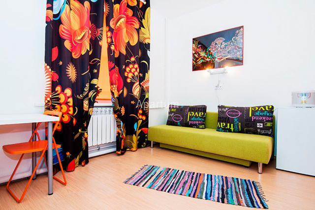"""1-комнатная квартира на Студия """"Хохлома"""", в апарт-отеле """"Новая Голландия"""" в Санкт-Петербурге"""