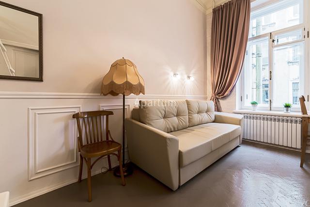 """1-комнатная квартира на Апартаменты посуточно """"Строганов"""" на проспекте  Добролюбова  в Санкт-Петербурге"""