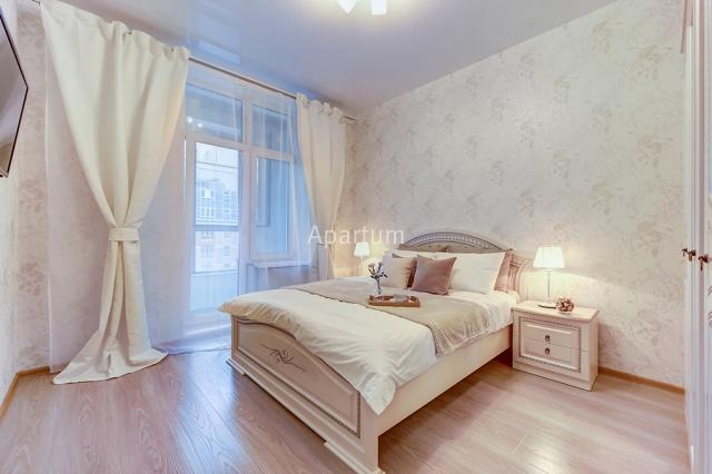 2-комнатная квартира на Видовая квартира посуточно на Пионерской улице, д.50 в Санкт-Петербурге
