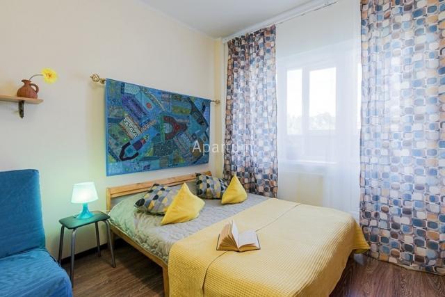 1-комнатная квартира на Студия посуточно в Московском районе. Варшавская ул., д. 19 в Санкт-Петербурге