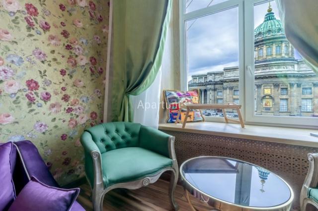 1-комнатная квартира на Видовая квартира на канале Грибоедова 22-5 в Санкт-Петербурге