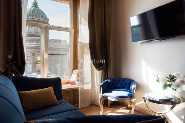 1-комнатная квартира на Видовые апартаменты на канале Грибоедова 22-6 в Санкт-Петербурге