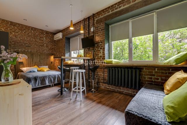 1-комнатная квартира на Апартаменты на 2-й линии Васильевского острова в Санкт-Петербурге
